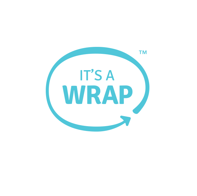 It's A Wrap Logo and Branding Design