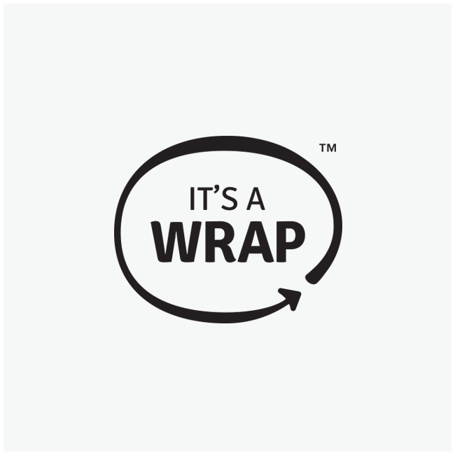 It's A Wrap Logo Design and Branding by Wetdog Creative