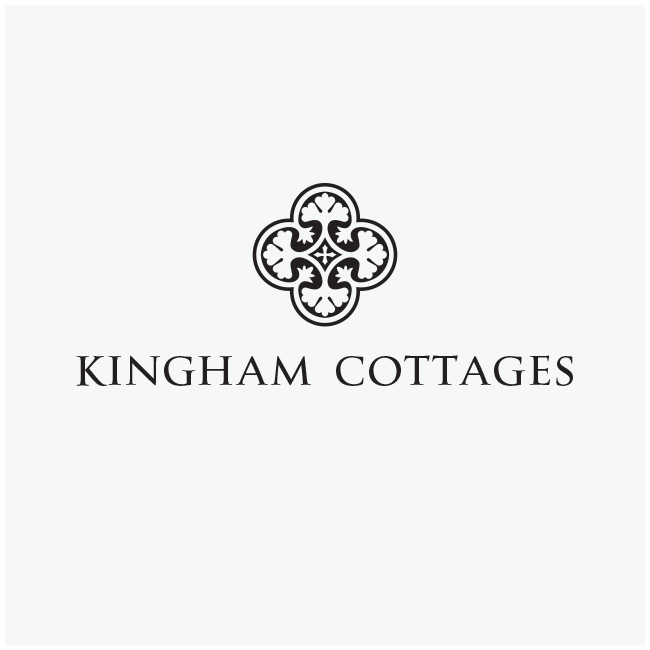 Kingham Cottages Logo Design and Branding by Wetdog Creative