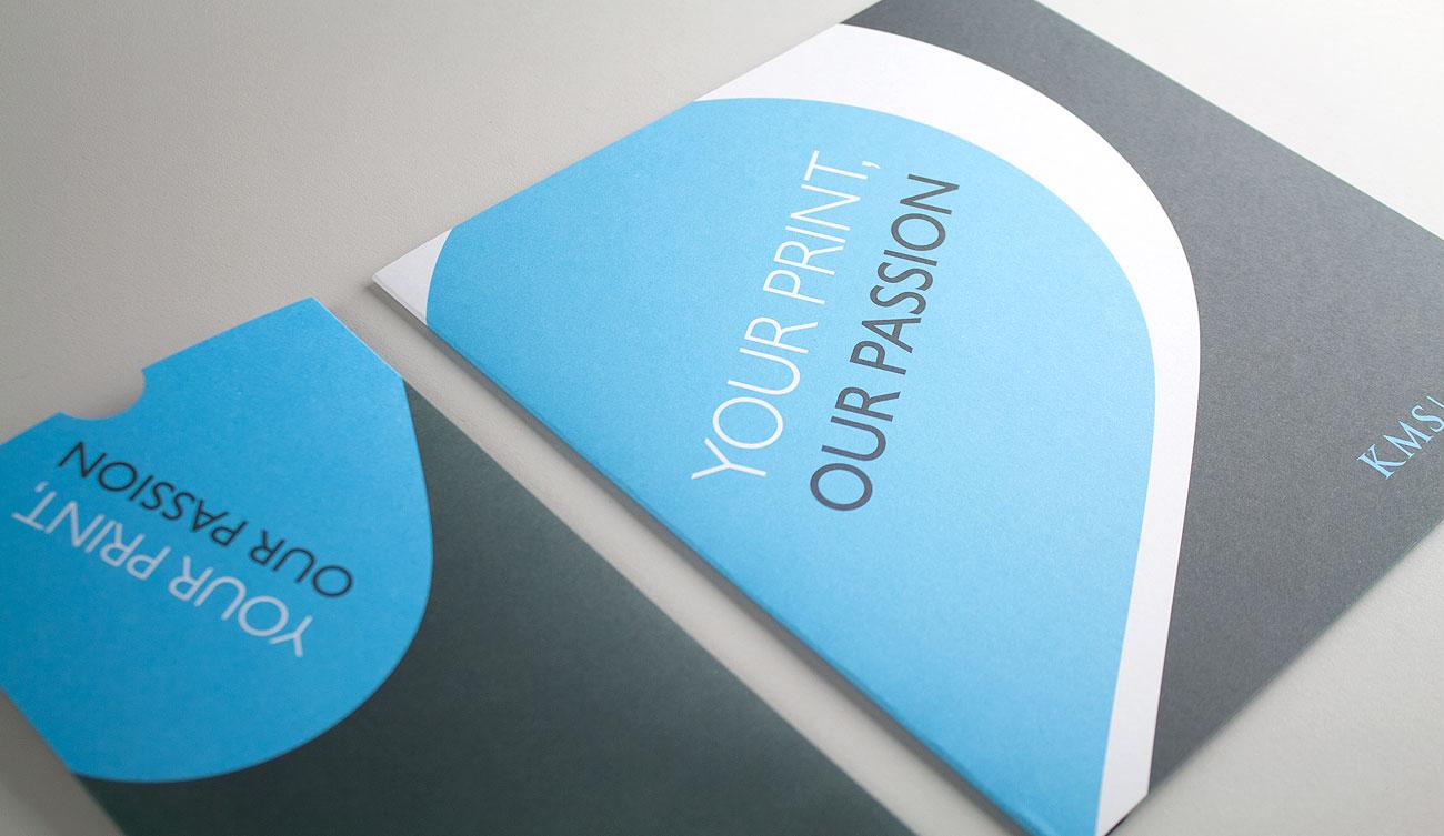 KMS Litho Bespoke Mailer Design