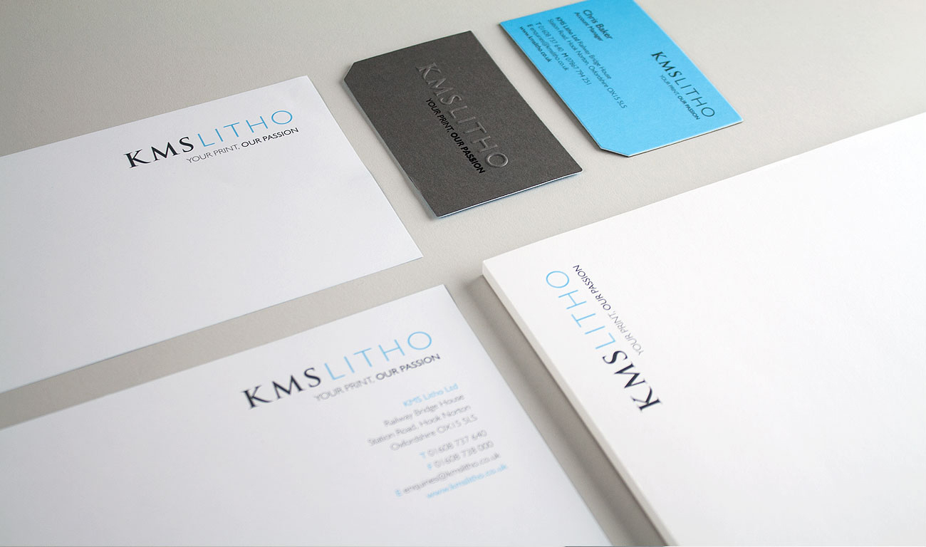KMS Litho Stationery Logo and Branding Design