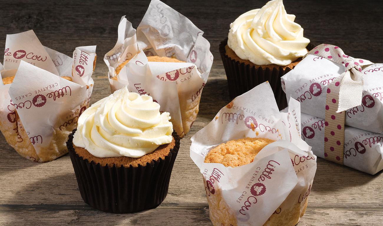Branded Food Packaging Greaseproof Paper