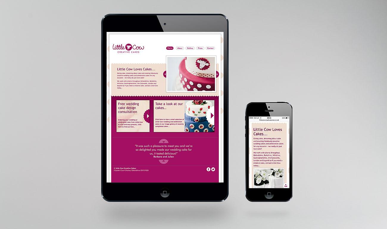 Little Cow Responsive Website Design