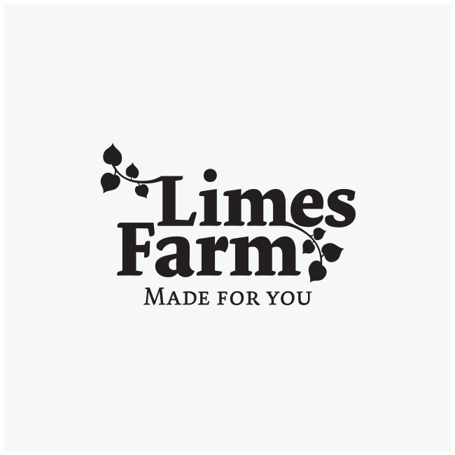 Limes Farm Logo Design and Branding by Wetdog Creative