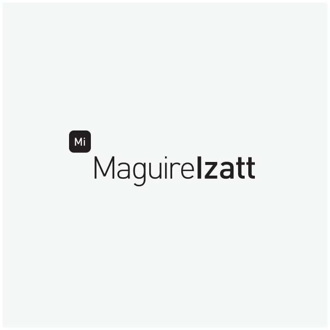 Maguire Izatt Logo Design and Branding by Wetdog Creative