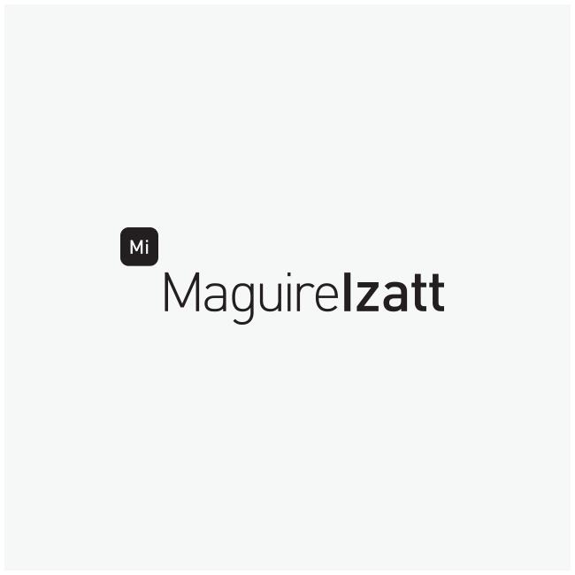 Maguire Izatt Logo Design and Branding by Wetdog Creative