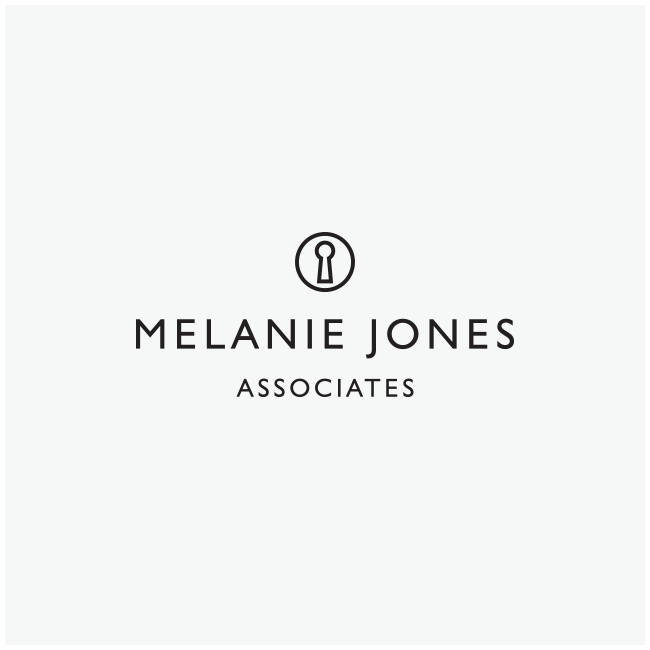 Melanie Jones Associates Logo Design and Branding by Wetdog Creative