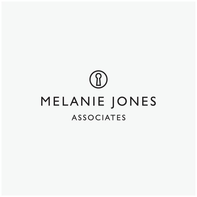 Melanie Jones Associates Logo Design and Branding by Wetdog Creative