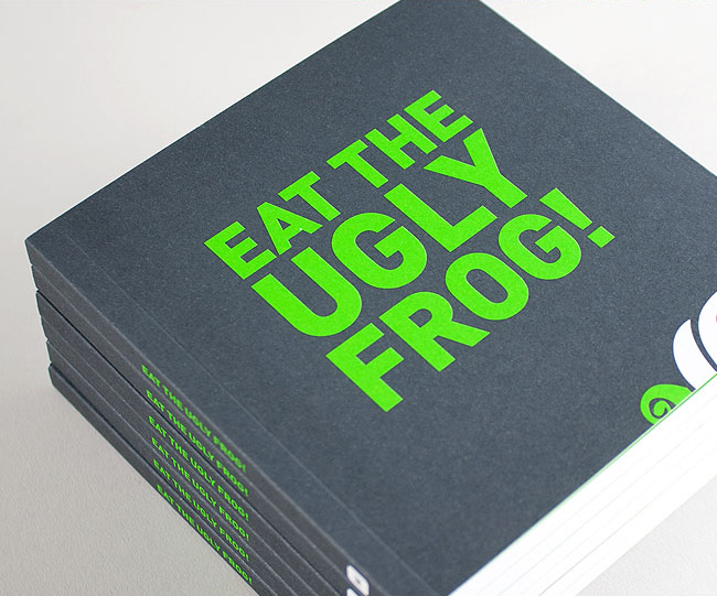Tips Book Bespoke Graphic Design by Wetdog Creative