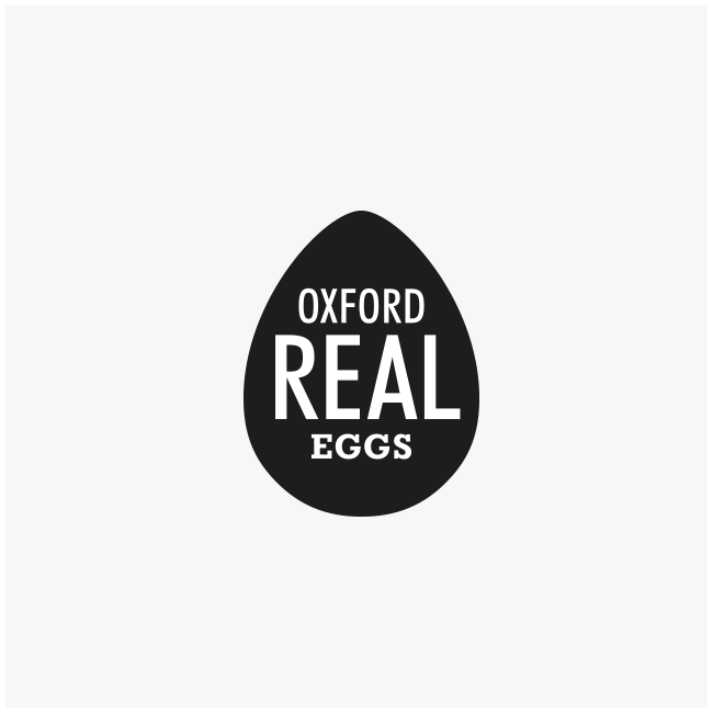 Oxford Real Eggs Logo Design and Branding by Wetdog Creative