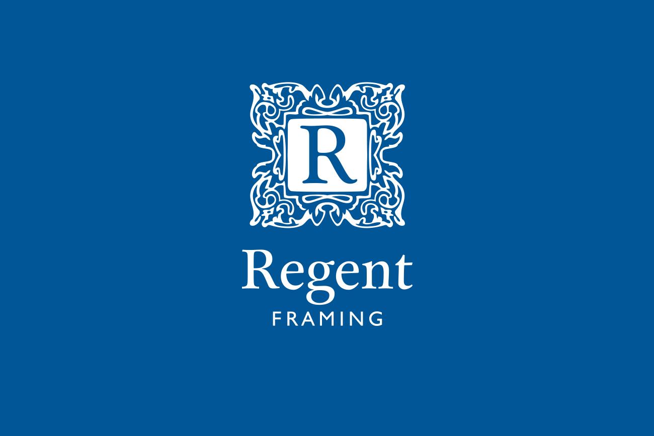 Regent Framing Logo Design and Branding by Wetdog Creative