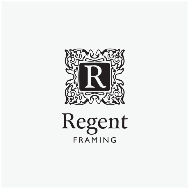 Regent Framing Logo Design and Branding by Wetdog Creative