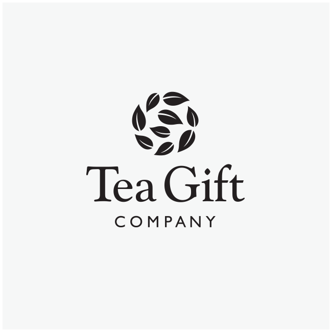 Tea Gift Company Logo Design by Wetdog Creative