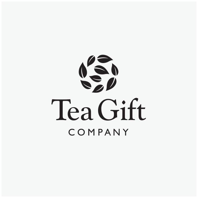 Tea Gift Company Logo Design by Wetdog Creative