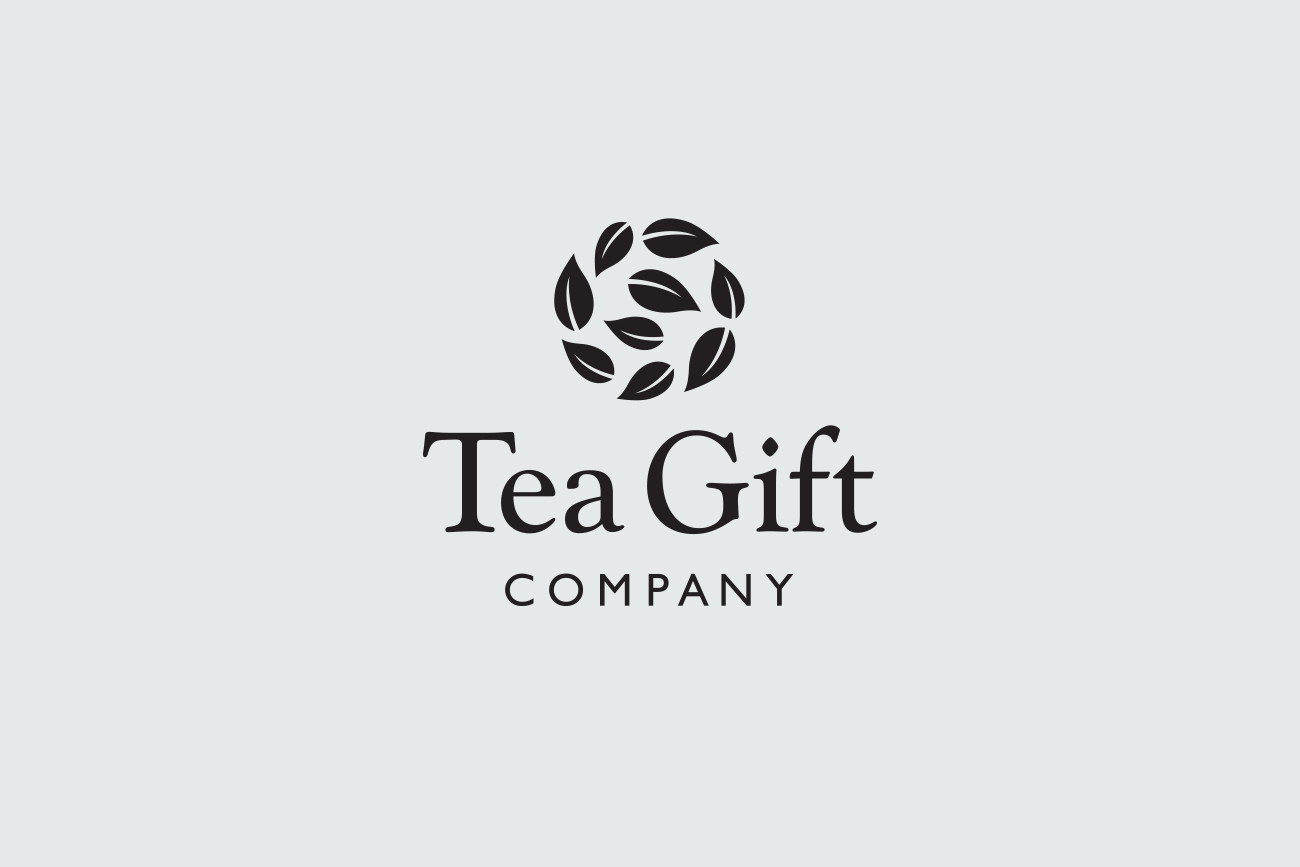 Tea Gift Company Logo and Branding Graphic Design by Wetdog Creative