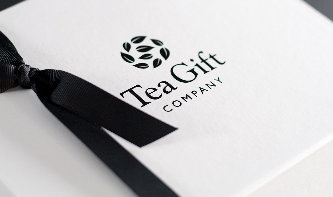 Tea Gift Company Packaging Design by Wetdog Creative