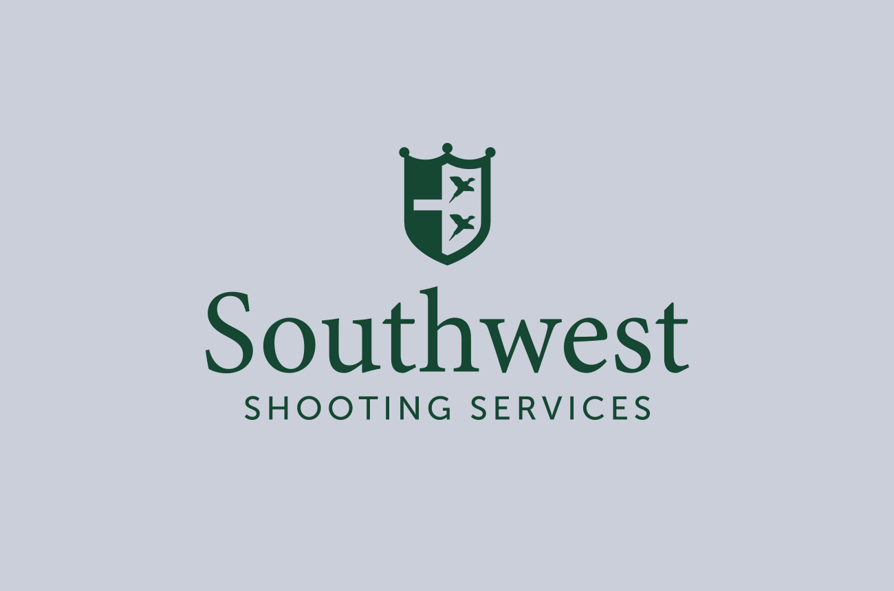 south west shooting logo designed by wetdog creative graphic design studio