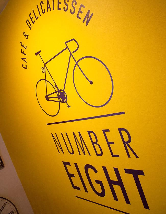 Number Eight Interior Signage Design