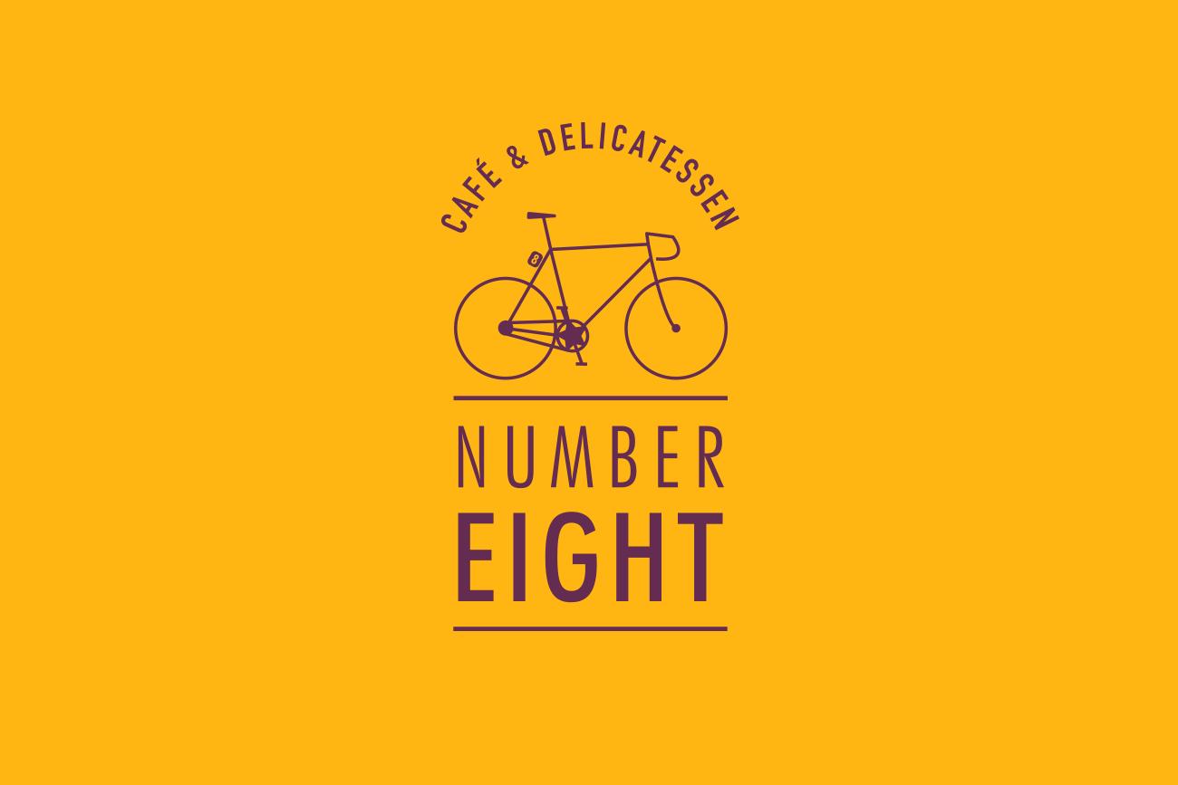 Number Eight (based in Launceston, Cornwall) Logo Design by Wetdog Creative
