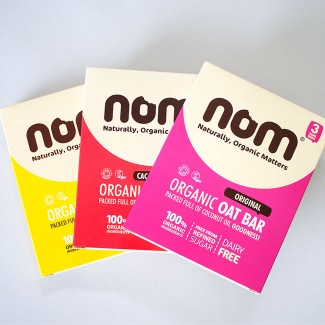Nom Foods. Branding and Design.