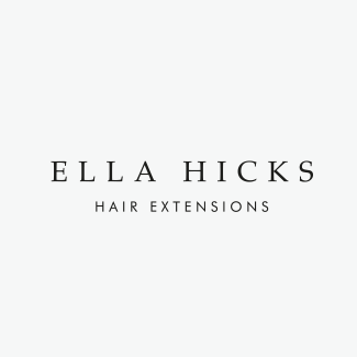 Ella Hicks Hair Extensions Branding