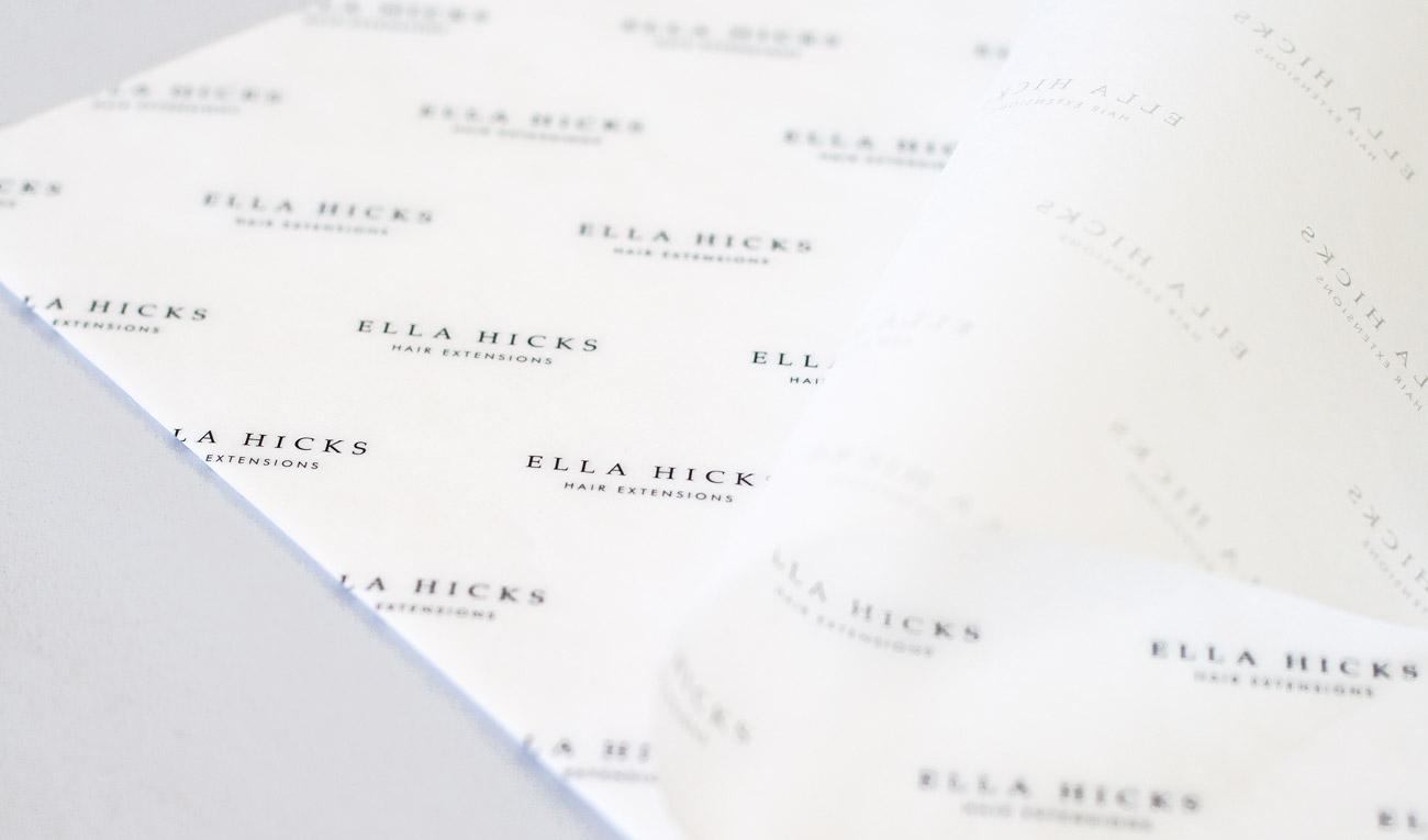 Ella Hicks Hair Extensions Branding By Wetdog Creative
