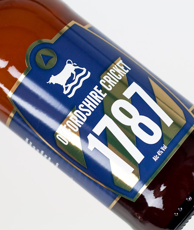 Chadlington Brewery 1787 - Oxfordshire Cricket