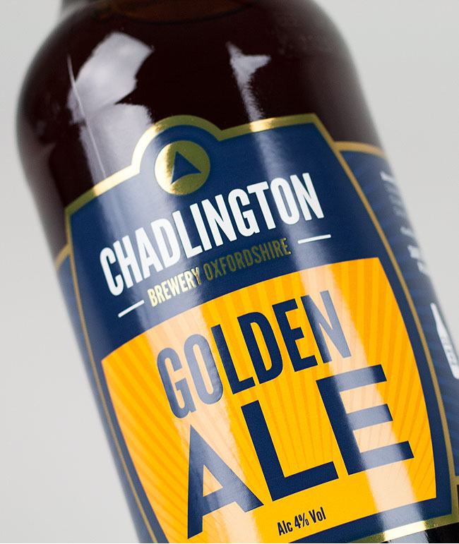 Chadlington Brewery bottle label