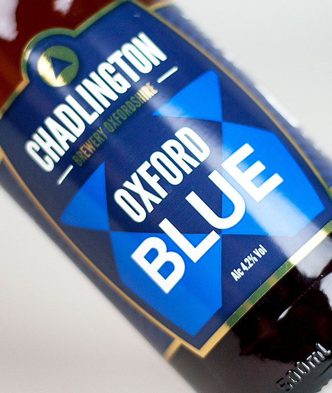 Chadlington Brewery Oxford Blue