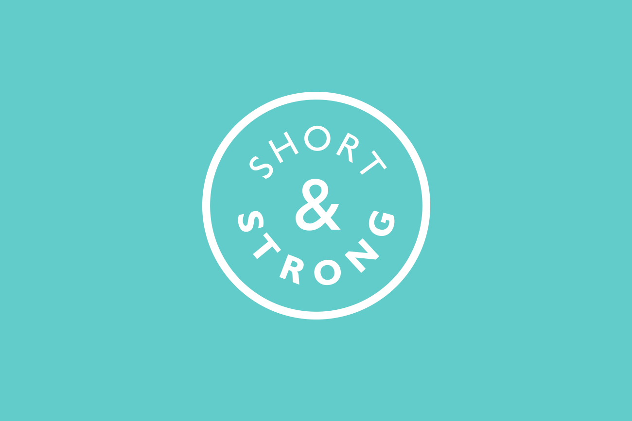 Short & Strong logo design