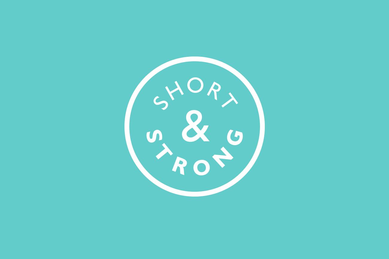 Short & Strong logo design