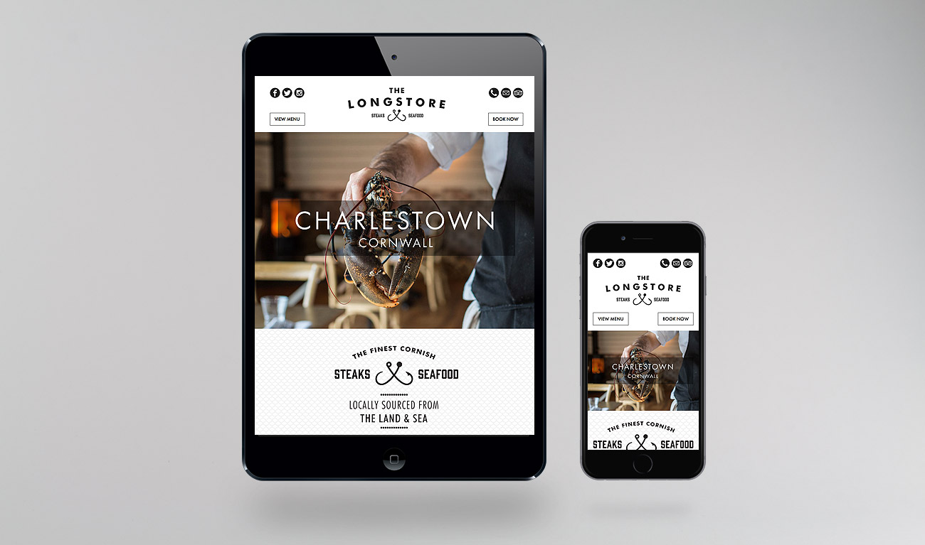 The Longstore Charlestown web design