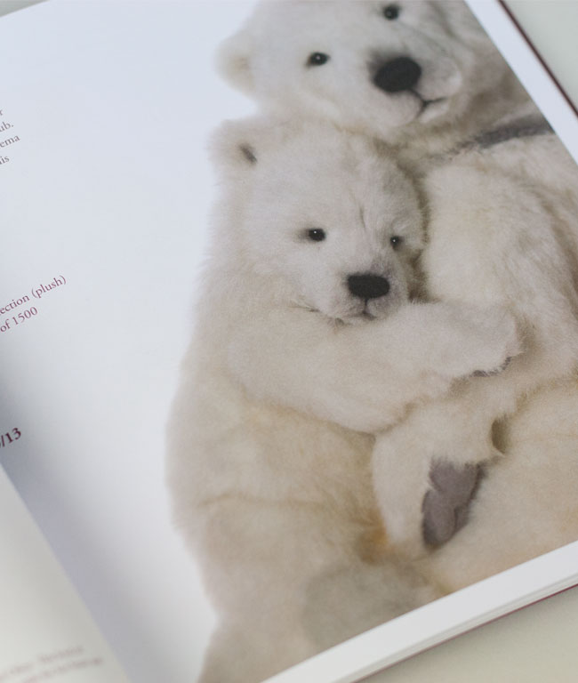 Charlie Bears Catalogue detail