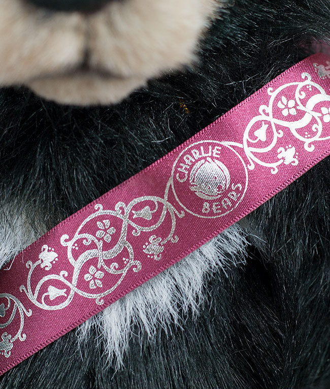 Charlie Bears Branded Ribbon