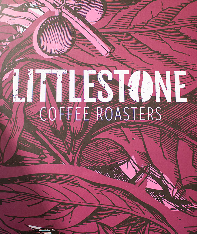 Littlestone Coffee Roasters exhibition stand