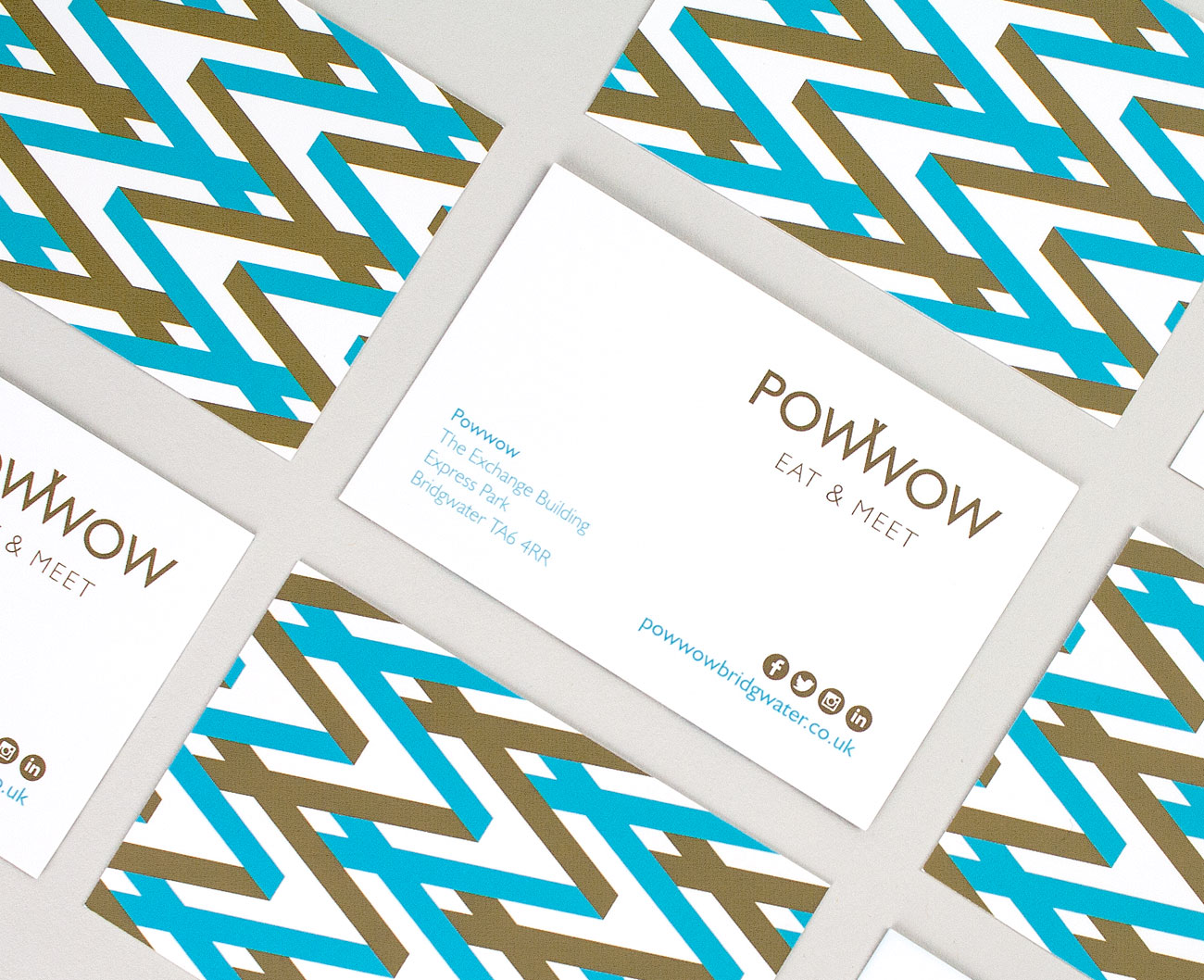 Powwow business cards