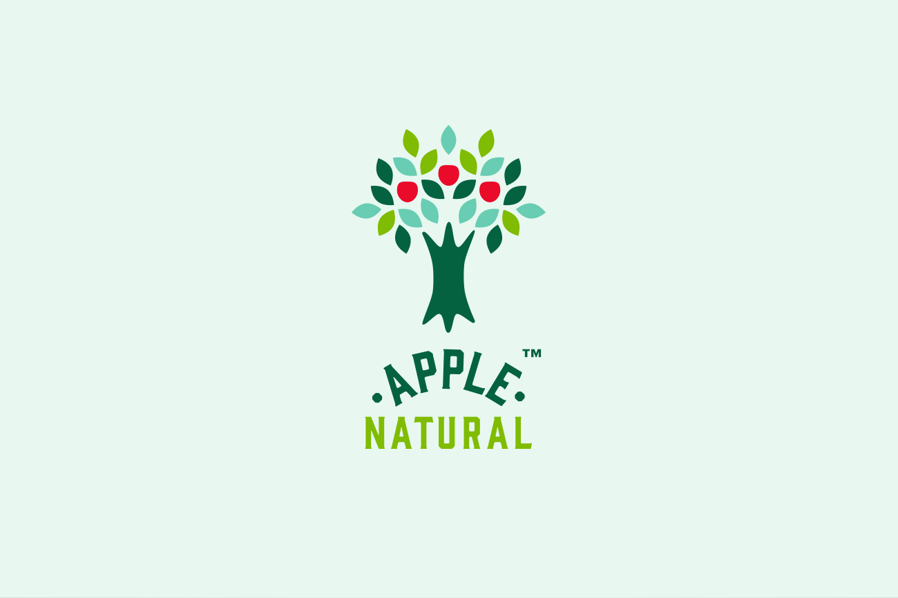 Apple Natural Logo
