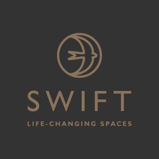 Swift Garden Rooms branding
