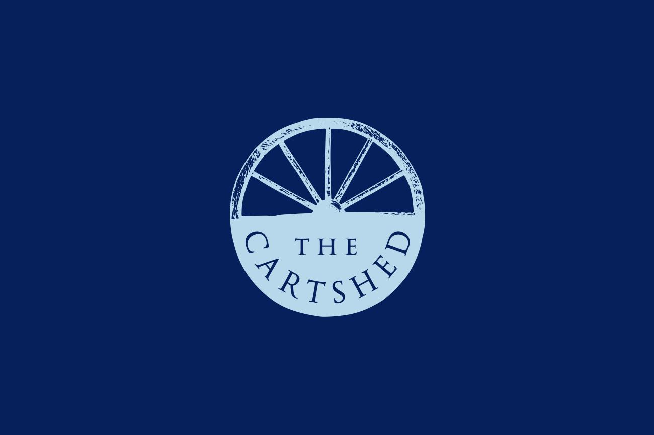 The Cartshed Great Massingham logo design